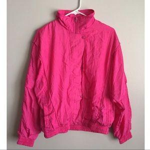 Vintage Hot Pink Track Suit
